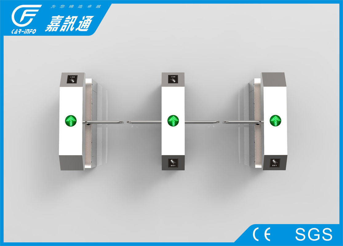 Electronic Turnstile Barrier Gate , High Speed Swing Access Control Turnstile Gate